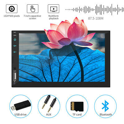 """Latest 7""""Inch Double Din WIFI Android 8.1 Car Stereo GPS Navigation Radio Player"""
