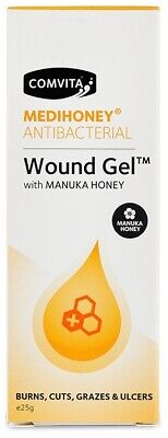 Comvita Medihoney Antibacterial Wound Gel 25g (Pack of 2)