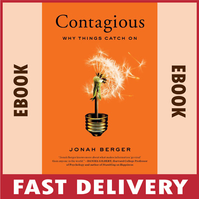 "Contagious : Why Things Catch On "" by Jonah Berger "" [PDF/EPUB]"
