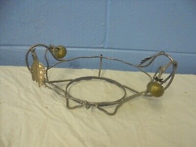 Antique Hukin & Heath Silver Plated Fruit Bowl Table Centre Piece