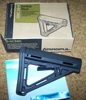 Stock, Magpul Made, Black, U.s. Issue *Nice*