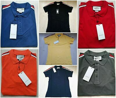 d40ba4175d9e GUCCI MEN CASUAL Polo Shirt New With Tags Bee Embroidery Polo Size ...
