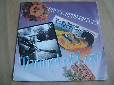 """Bruce Springsteen - Tunnel Of Love   [Cbs 7""""  ) Two For The Road"""