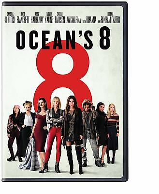 OCEAN'S 8 2018 Widescreen DVD with Special Features Bonus Disc >NEW<