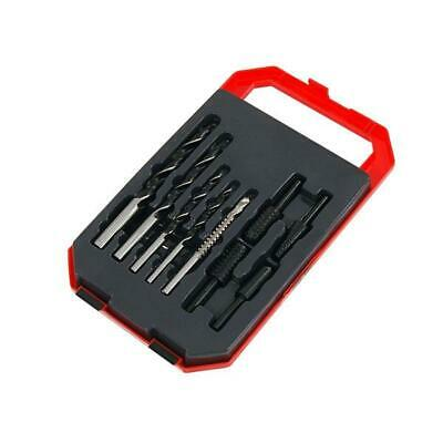 CT3652 9pc Wood Drill Bit Set, Drill Saw, Wood Rasp, Countersink & Storage Case