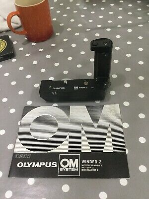 Olympus OM Power Winder 2 For OM Series Cameras Fits OM-1 OM-2