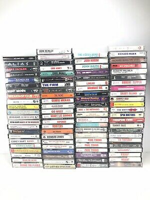 Lot Of Alternative Rock NEW WAVE Pop Cassette Tapes VINTAGE 80s 90s All Listed