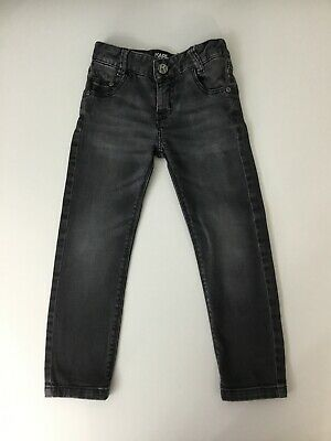 Karl Lagerfeld Kids Boys Dark Grey Skinny Slim Fit Jeans Pants Age 4 Years