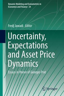 Uncertainty, Expectations and Asset Price Dynamics, Buch