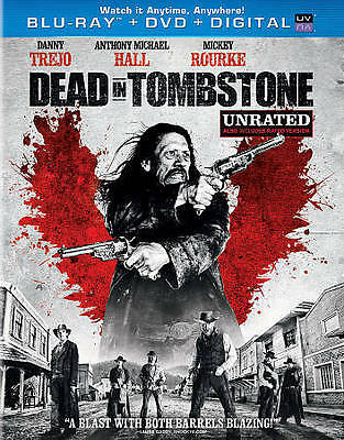 Dead in Tombstone Blu-Ray + (DVD + Digital, 2013) i Unrated New Dany Trejo