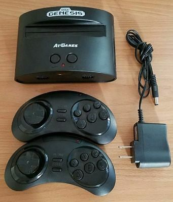 Atgames Sega Genesis Classic Game Console 80 Games Included