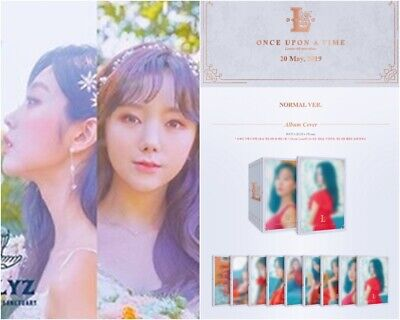 LOVELYZ: ONCE UPON A TIME* 6th Mini Album Full Package Poster (CD, KakaoM) K-POP