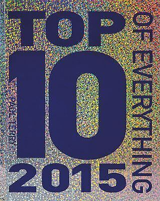 NEW Top 10 of Everything 2015 by Paul Terry (2014, Hardcover) WO88
