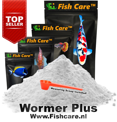 Wormer Plus | 3.300 Liters | 10 Grams | Best Fish dewormer | Official Treatment!