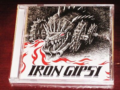Iron Gypsy: S/T ST Self Titled Same CD 2017 No Remorse Records Greece NEW