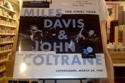 Miles Davis John Coltrane Final Tour Copenhagen March 24 1960 LP new vinyl + DL