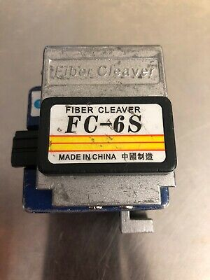 Sumitomo FC-6S SM MM High Precision Fiber Optic Cleaver FC 6S
