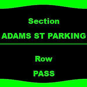 1-2 ADAMS ST PARKING Game of Thrones Live Concert Experience - Parking Passes On
