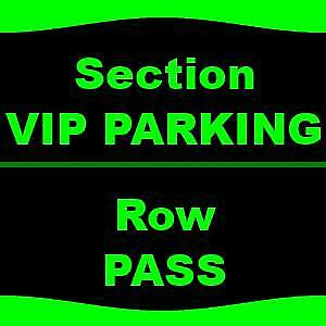 1-1 VIP PARKING Game of Thrones Live Concert Experience - Parking Passes Only 10