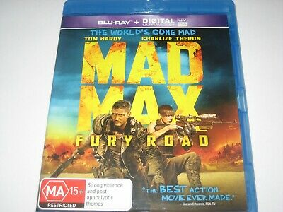 Mad Max Fury Road Blu-Ray Rb New