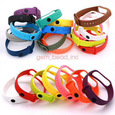 New Replacement  Silicone Watch Band Straps for Xiaomi 3 4 Smart Bracelet