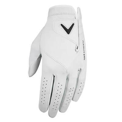 Callaway Golf Mens 2019 Tour Authentic MLH Premium Cabretta Leather golf Glove