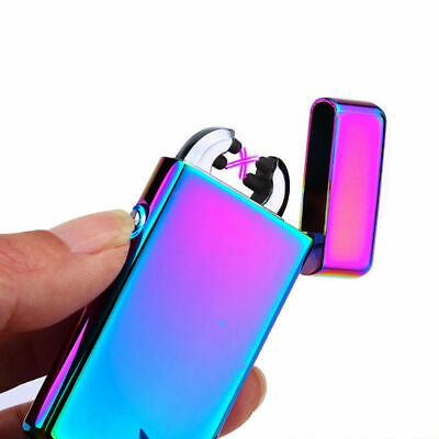 Windproof Electronic Lighter Rechargeable Flameless Electric Lighters