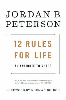 12 Rules for Life 2018 by Jordan B. Peterson {EBθθK}