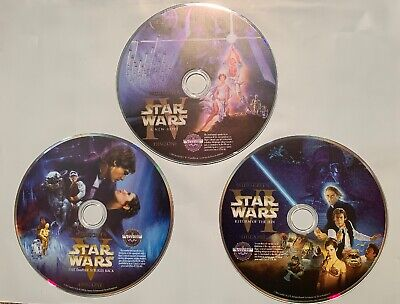 Star Wars Trilogy A New Hope Empire Strikes Back Return of Jedi (DVD Widescreen)