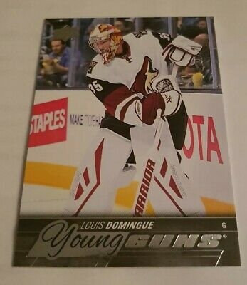 2015-16 Louis Doningue YOUNG GUNS Rookie Card #471 Upper Deck Series 2 LIKE NEW!