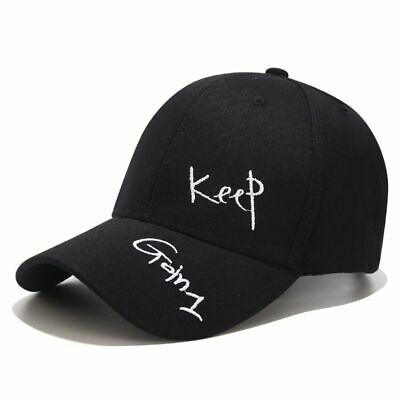 Unisex Baseball Cap Letter Embroidery Snapback Adjustable Man Outdoor Hat Male