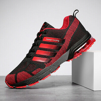 AU Mens Air Cushion Running Shoes Breathable Outdoor Sports Casual Walking Shoes
