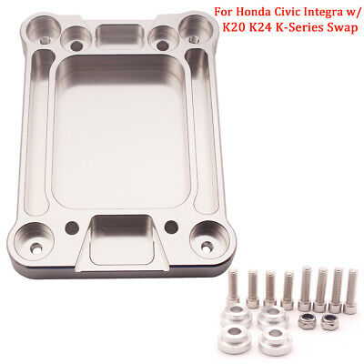 Billet Shifter Base Plate Fits Honda Civic Integra w/ K20 K24 K-Series Swap