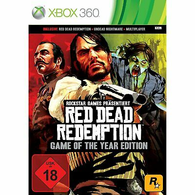Red Dead Redemption - Game of the Year Edition (GotY)  XBOX 360  !!! NEU+OVP !!!