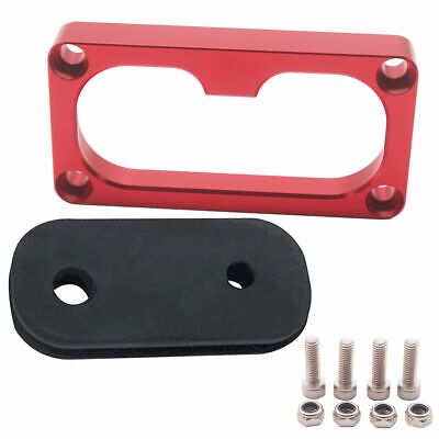 Billet Firewall Shifter Cable Grommet Fits Civic Integra w/ K-Series Swap Red