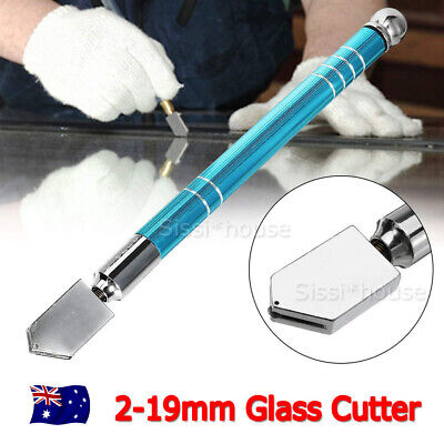 NEW 2-19mm Glass Cutter Oil Feed Dropper Craft Cutting Knife Blade GIFT AU