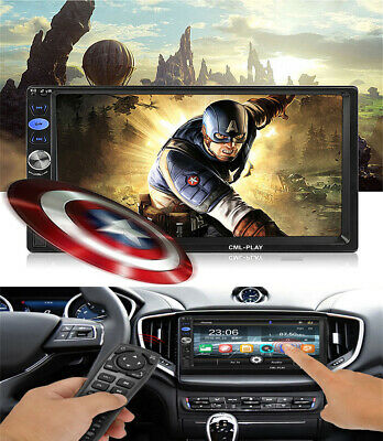 7'' 2 Din Head Unit MP5 Multimedia Player Touch Screen+Car DVD Remote Control