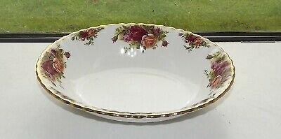 Royal Albert Old Country Roses Oval Serving Bowl 23cm 1st Quality