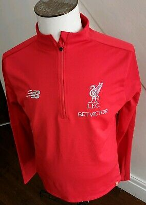 GENUINE MEN'S Liverpool fc training top/ ZIP UP /  / LARGE  /RED   2018-19