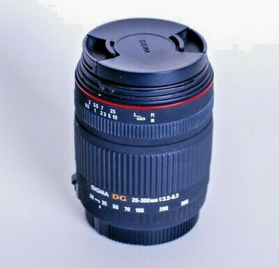 Sigma 18-300mm F/3.5-6.3 DC  Lens to suit canon.