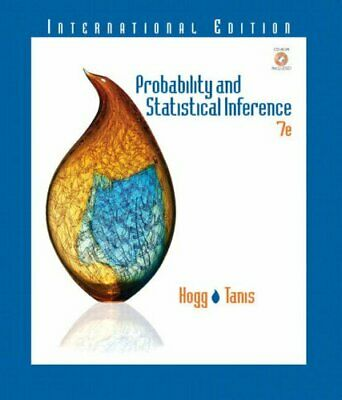 Probability and Statistical Inference: International Edition (Essentials S.)-