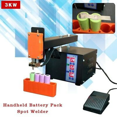 220V 3KW Handheld Battery Pack Spot Welding Machines 18650 Battery Pack Welder