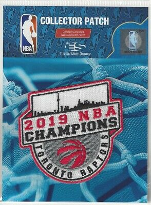 2019 Toronto Raptors NBA Finals Champions Official Champs Patch Sew On Iron On