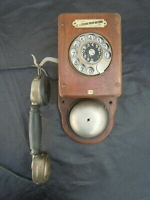 Telephone prive national telephone grammont ancien phone telefon vers 1910