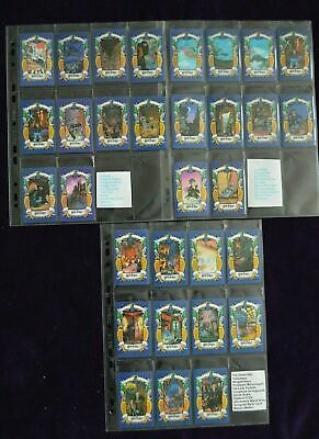 Harry Potter 1st & 2nd series Full Set 31 UK Chocolate Frog Cards. WARNER BROS