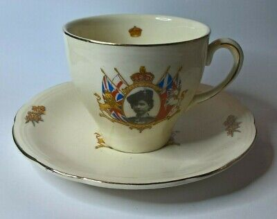 1953 Coronation of Queen Elizabeth ll Cup & Saucer by Alfred Meakin