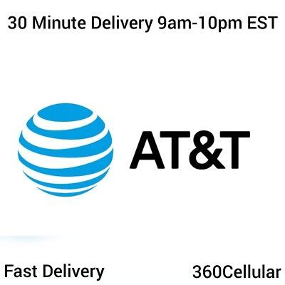 100 - At&T | Att Prepaid Numbers For / To Port! Bulk Quantity Fast Delivery!!