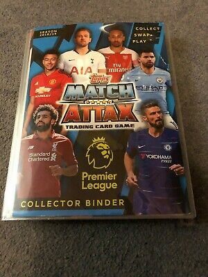 Match Attax 2018/19 Set Of 300 Cards In Binder + Limited Edition Mint