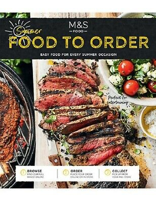 Marks and Spencer Food to order Magazine - June 2019, Summer Edition