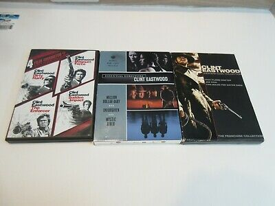 10 Clint Eastwood: Western Icon Coll. (07) 4 Dirty Harry (09) The Director (08)